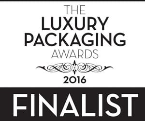 UK Luxury Packaging Awards 2016 Finalist