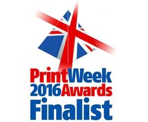 UK Print Week Awards 2016 Finalist