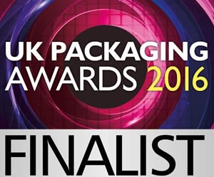 UK Packaging Awards 2016 Finalist