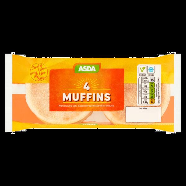 Asda English Muffins