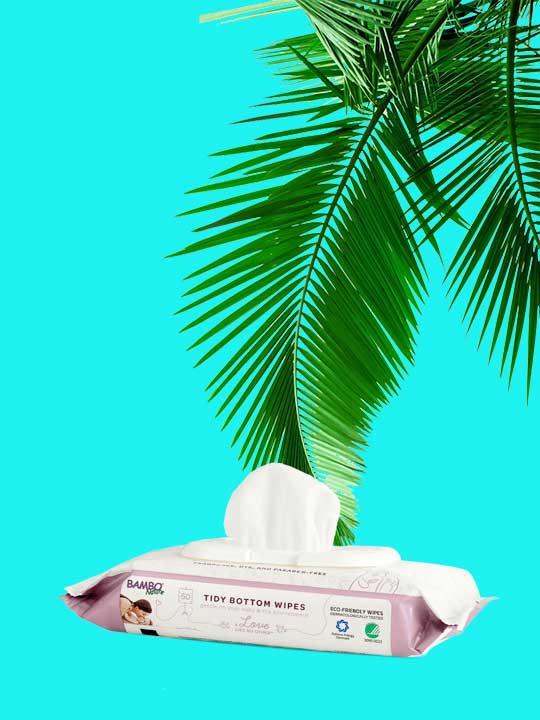 Lingettes non-toxiques Bambo Nature pour bébé. Livraison gratuite au Québec et en Ontario