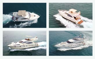 hire luxury yachts in Dubai at best rates
