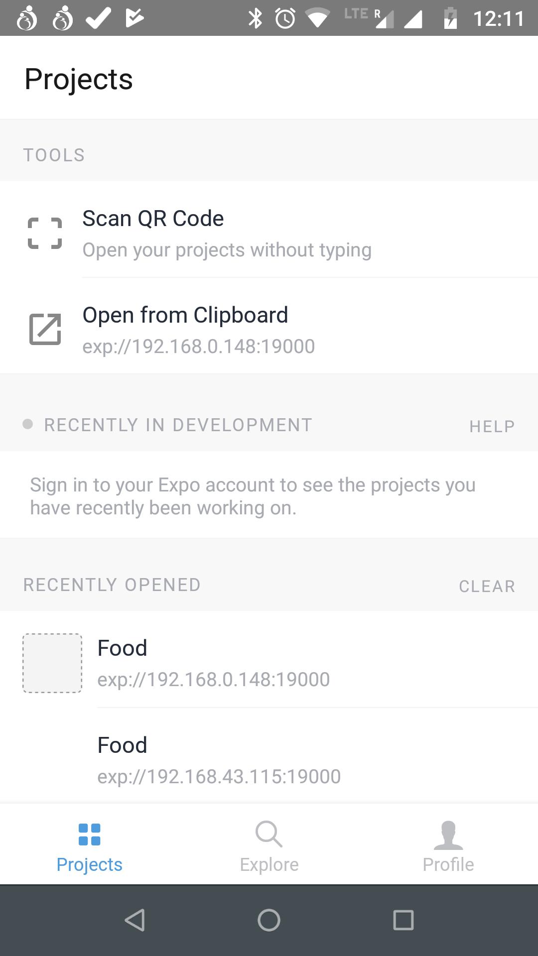 *Expo App*