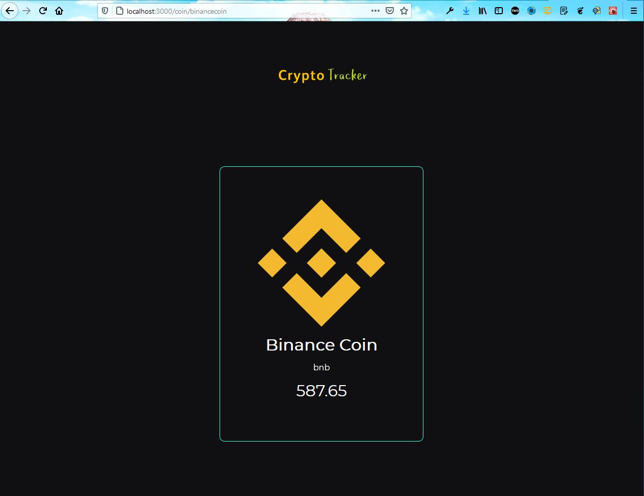 Crypto detail