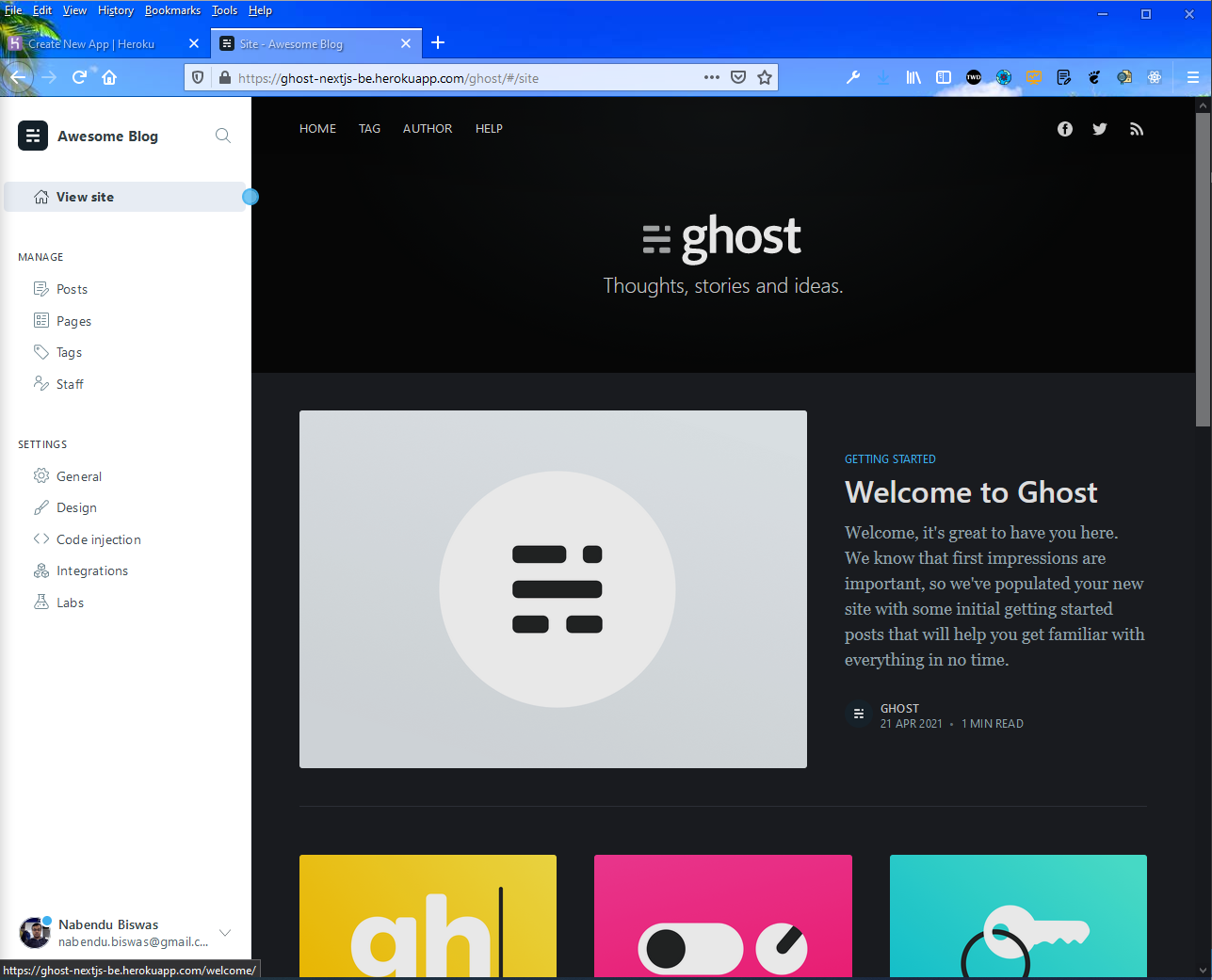 Ghost Site