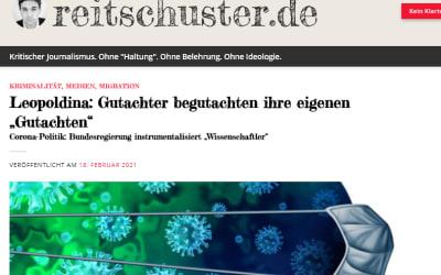 "Leopoldina: Gutachter begutachten ihre eigenen ""Gutachten"" — reitschuster.de"
