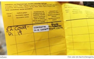 """""""Corona-Pass"""": Gesundheitsministerium schreibt Auftrag für fälschungssicheren Impfnachweis aus"""