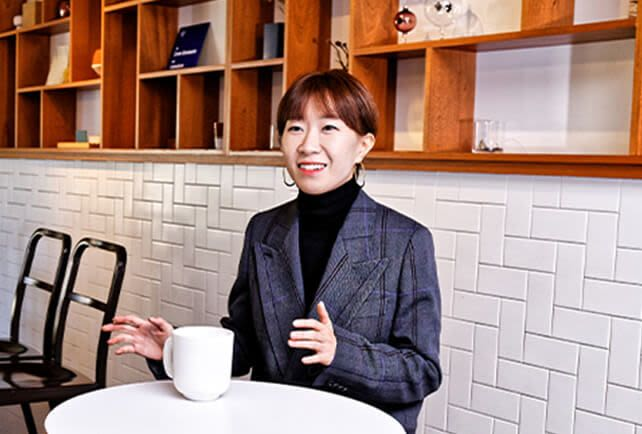 Kim Kyungha, CEO of DORÉ DORÉ