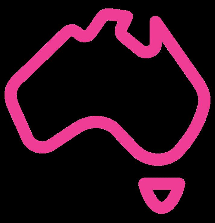 Australia Service Area Icon