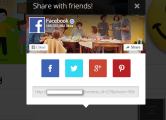example FB at Top (share window)