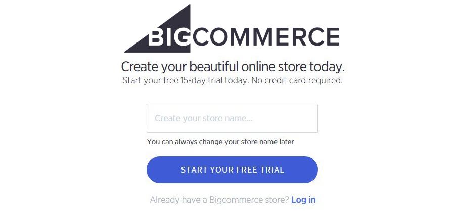 Bigcommerce Trail store