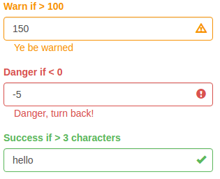 shinyFeedback 0.1.0 on CRAN