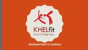 Khelfit Health Logo, Khelfit fitness business logo
