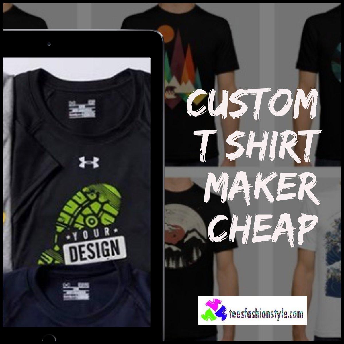 T Shirt Designer Cheap