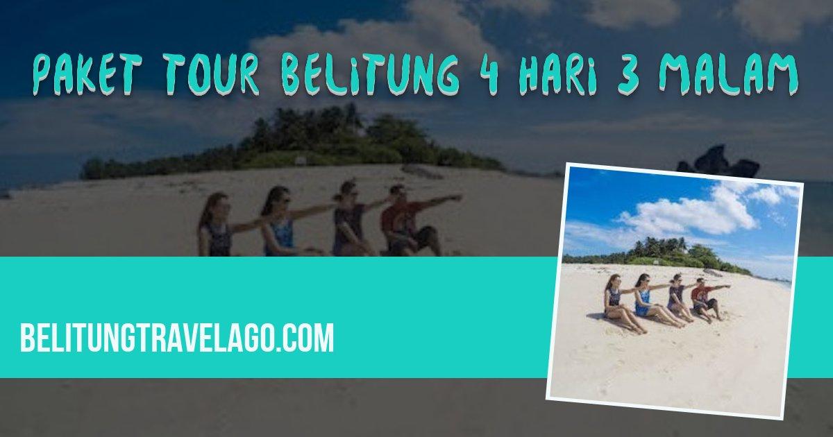 Paket Wisata Belitung 2d1n