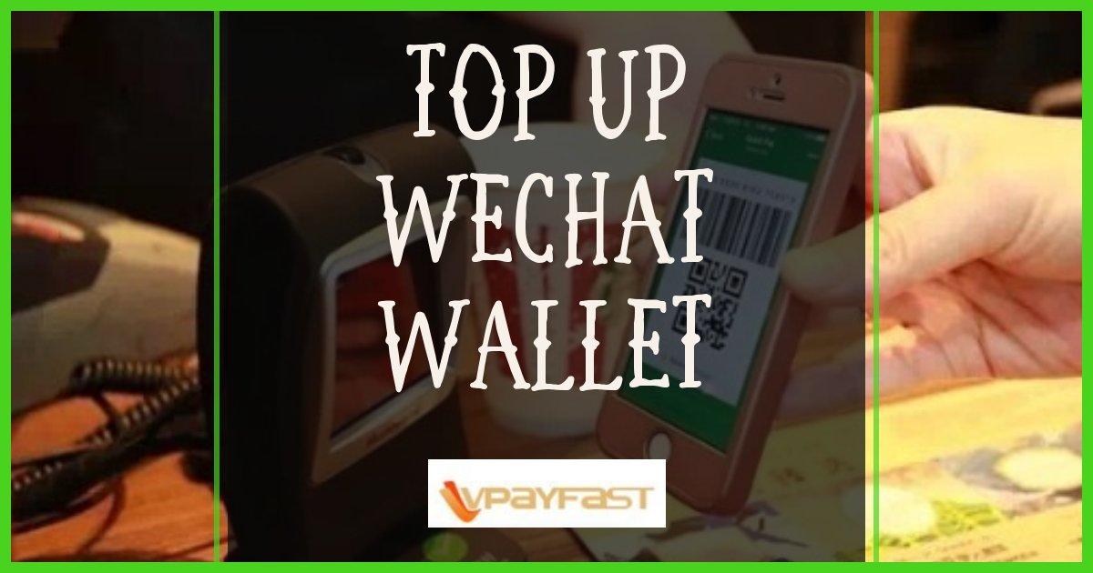Wechat Top Up Service Singapore
