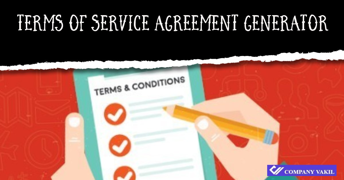 Terms Of Service Software License Agreement Online