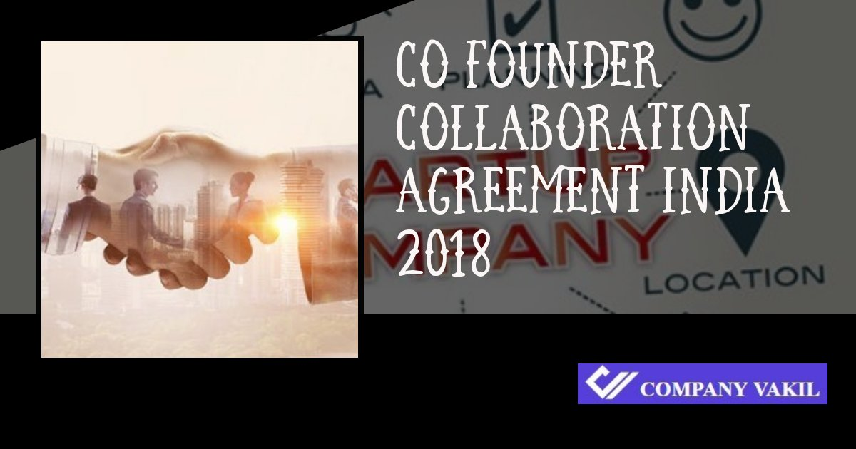 startup founder agreement template india online