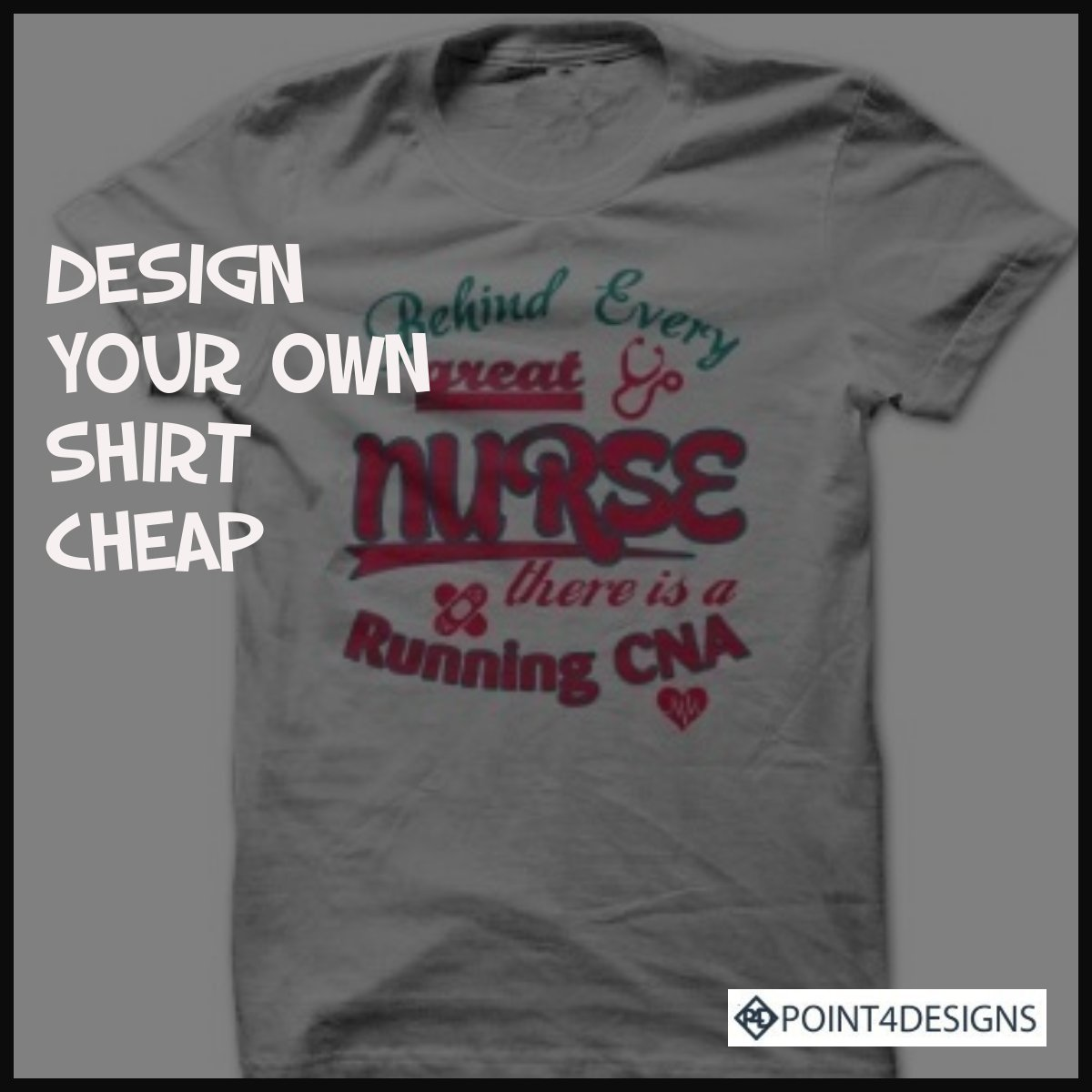 Design Your Own Shirt Cheap No Minimum