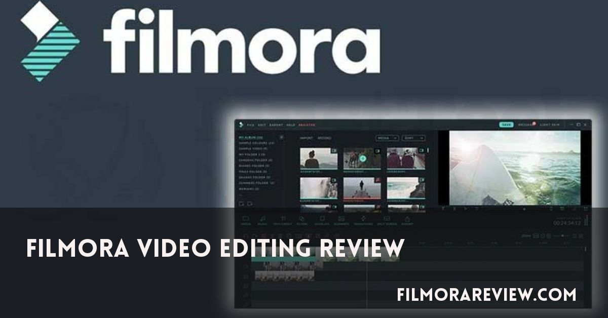 Filmora Video Editor Review 2019