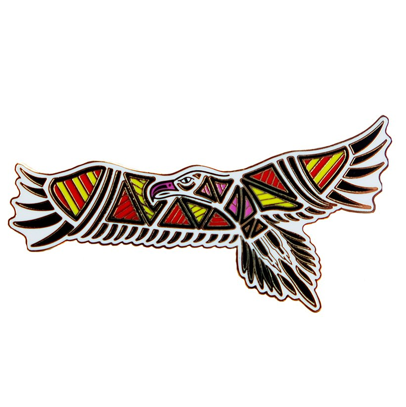 hard to find Aboriginal gifts Bunjil eagle pin