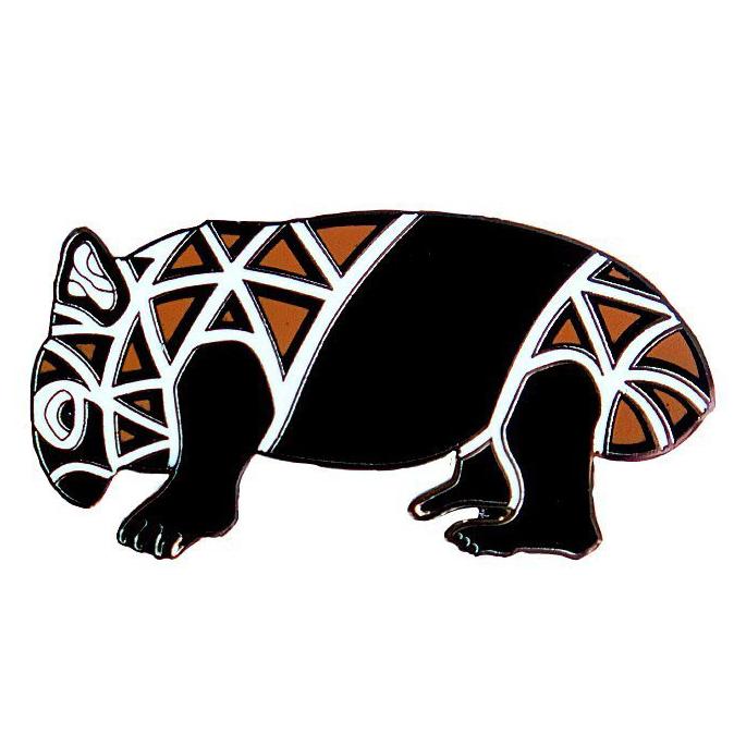 Wombat pin
