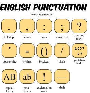 English punctuation 1 li7yzm - Punctuation for IELTS