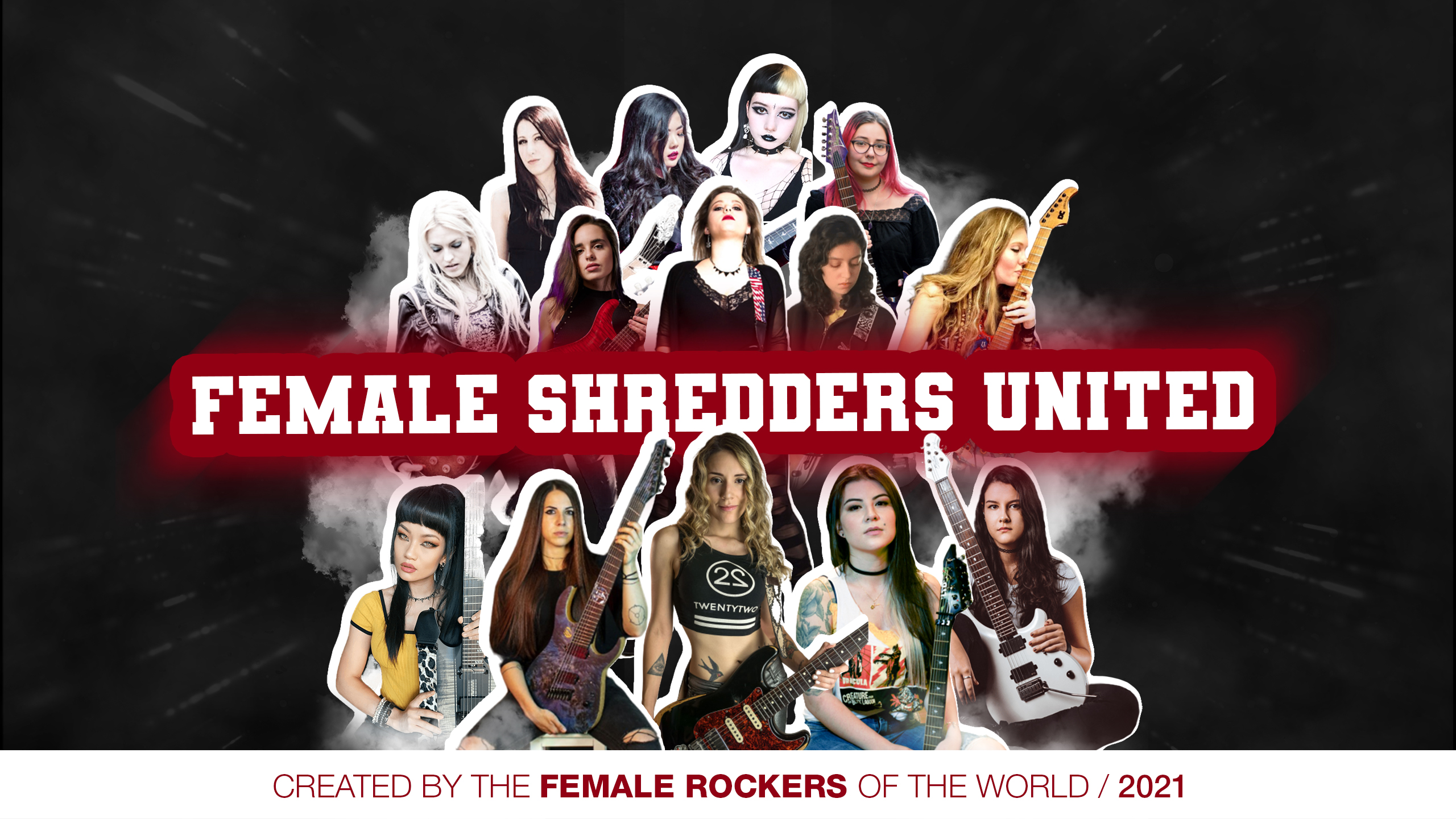 Female Rockers Shred Collab
