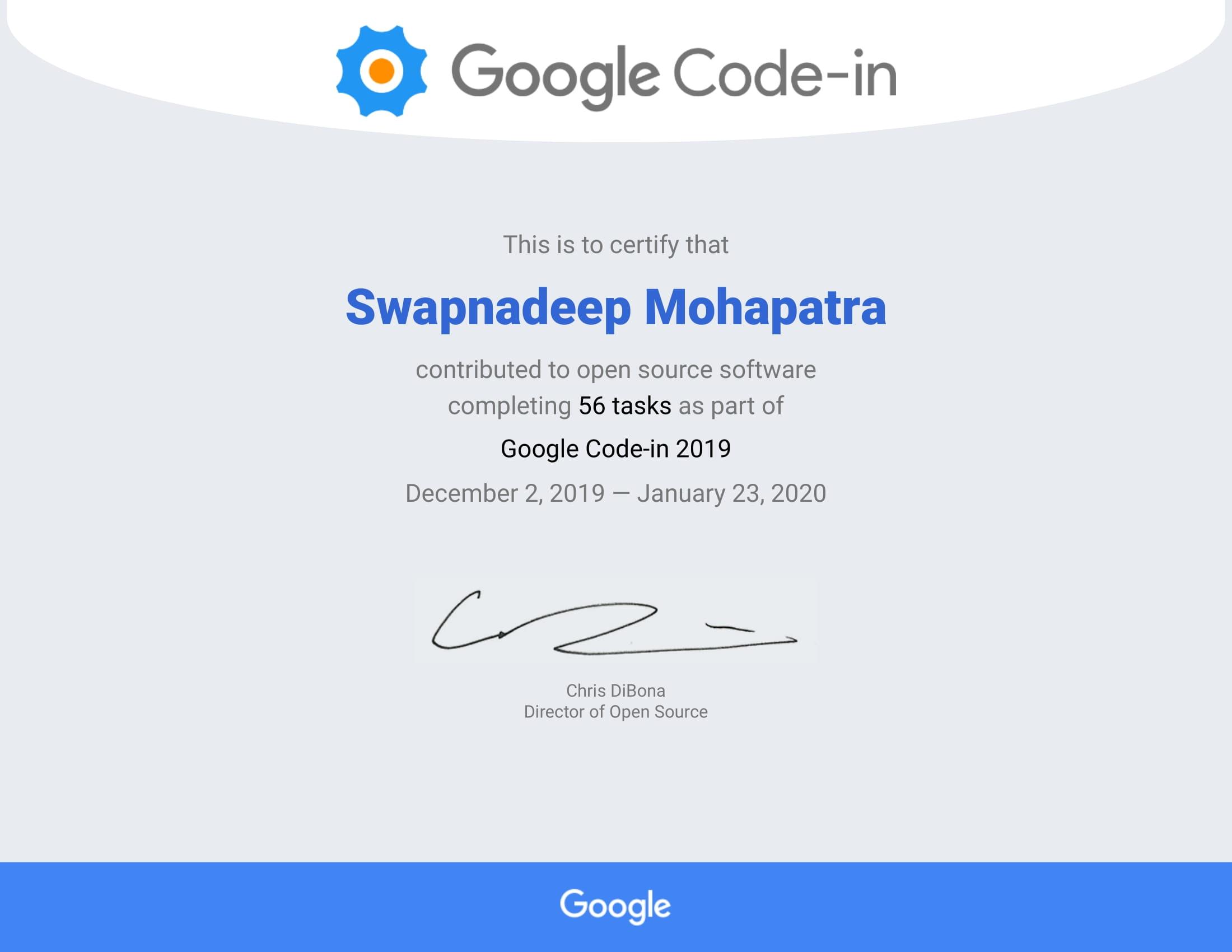 Google Code-In