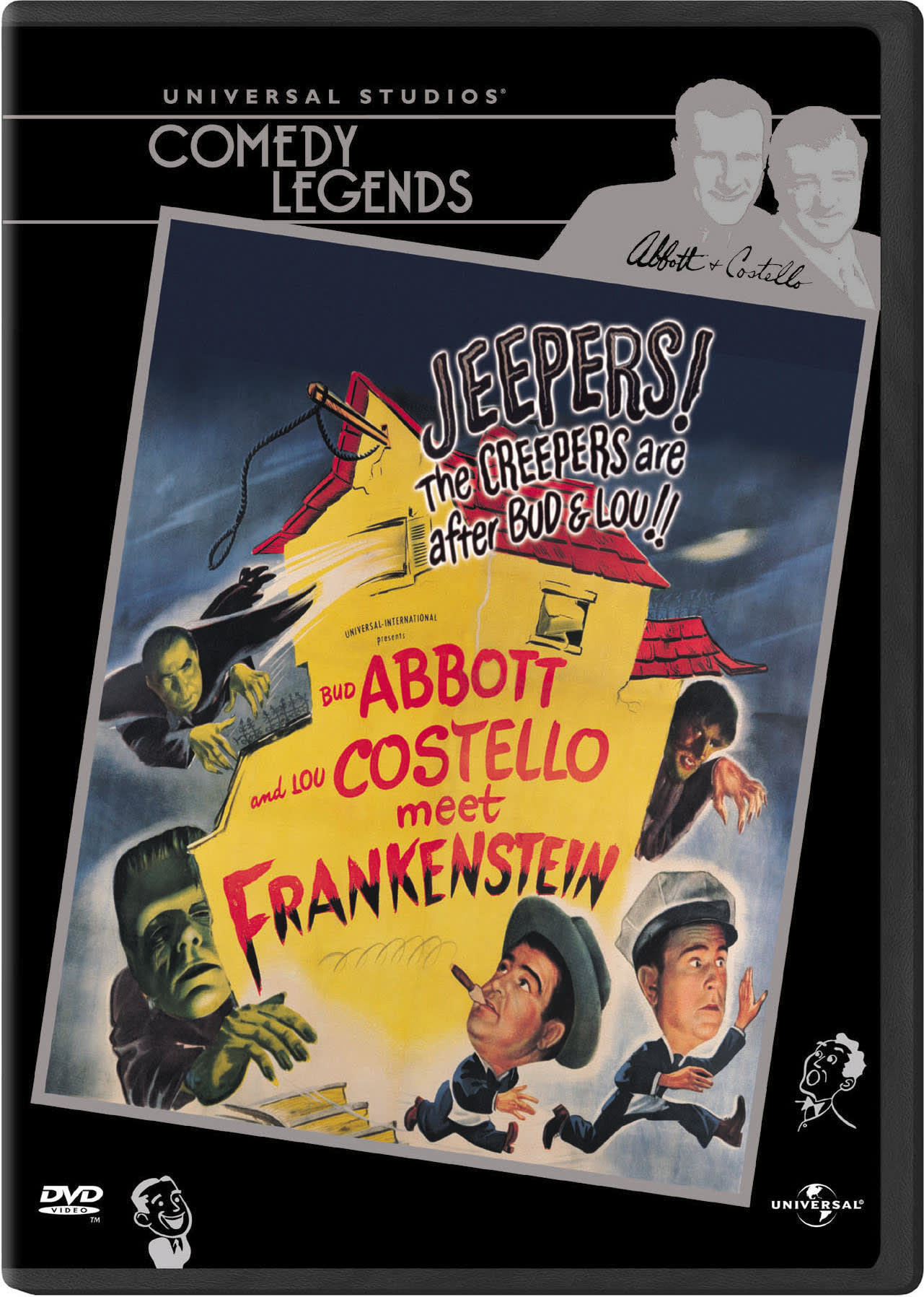 Abbott and Costello Meet Frankenstein [DVD]
