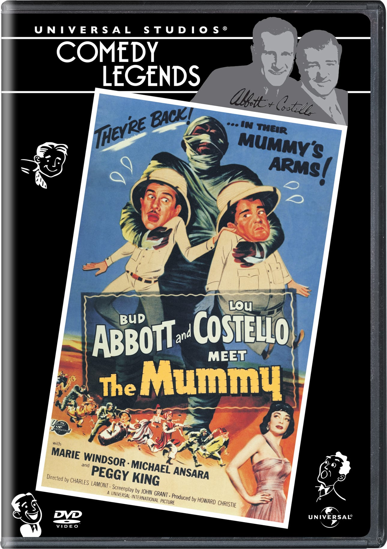 Abbott and Costello Meet the Mummy [DVD]
