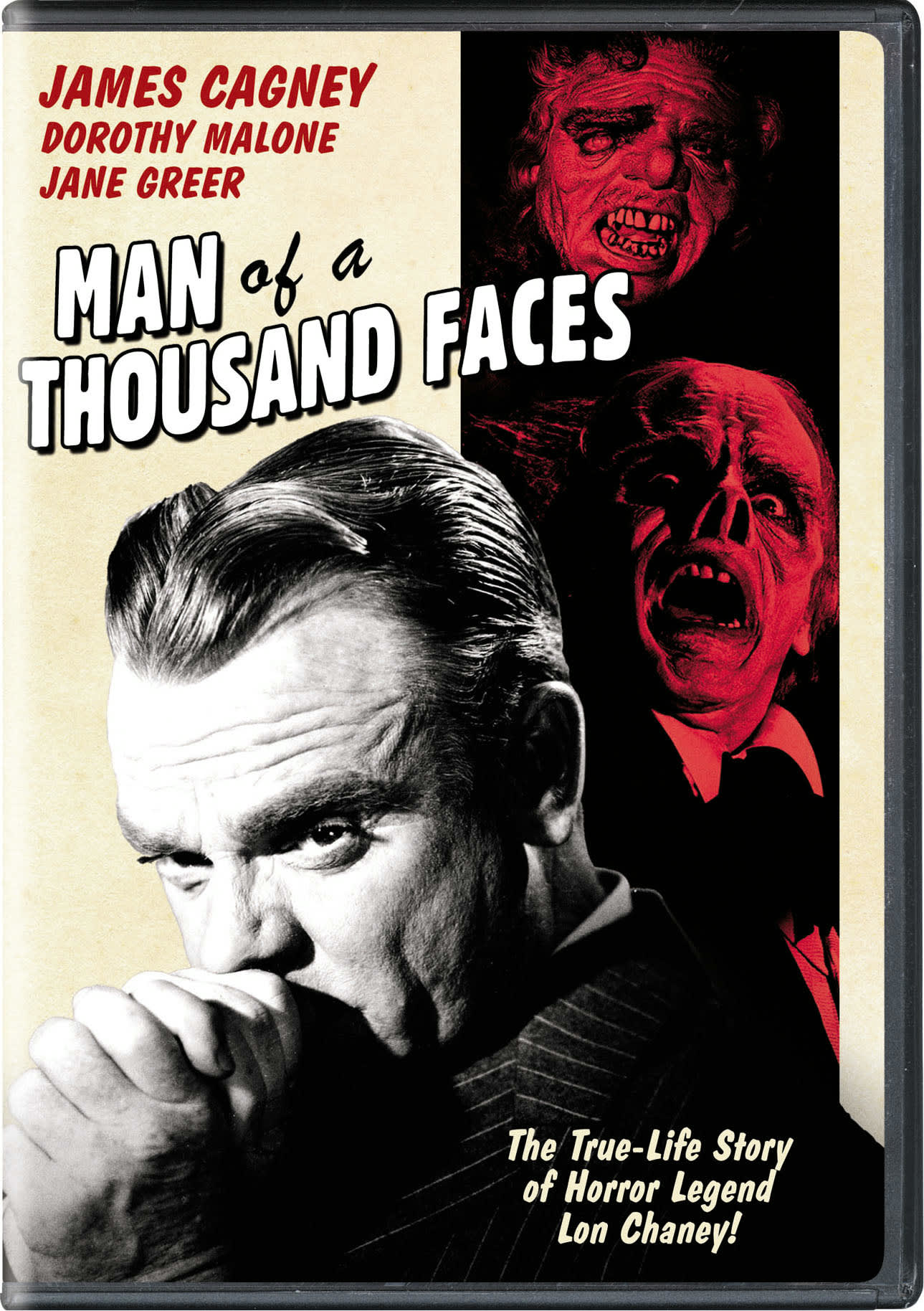 Man of a Thousand Faces [DVD]