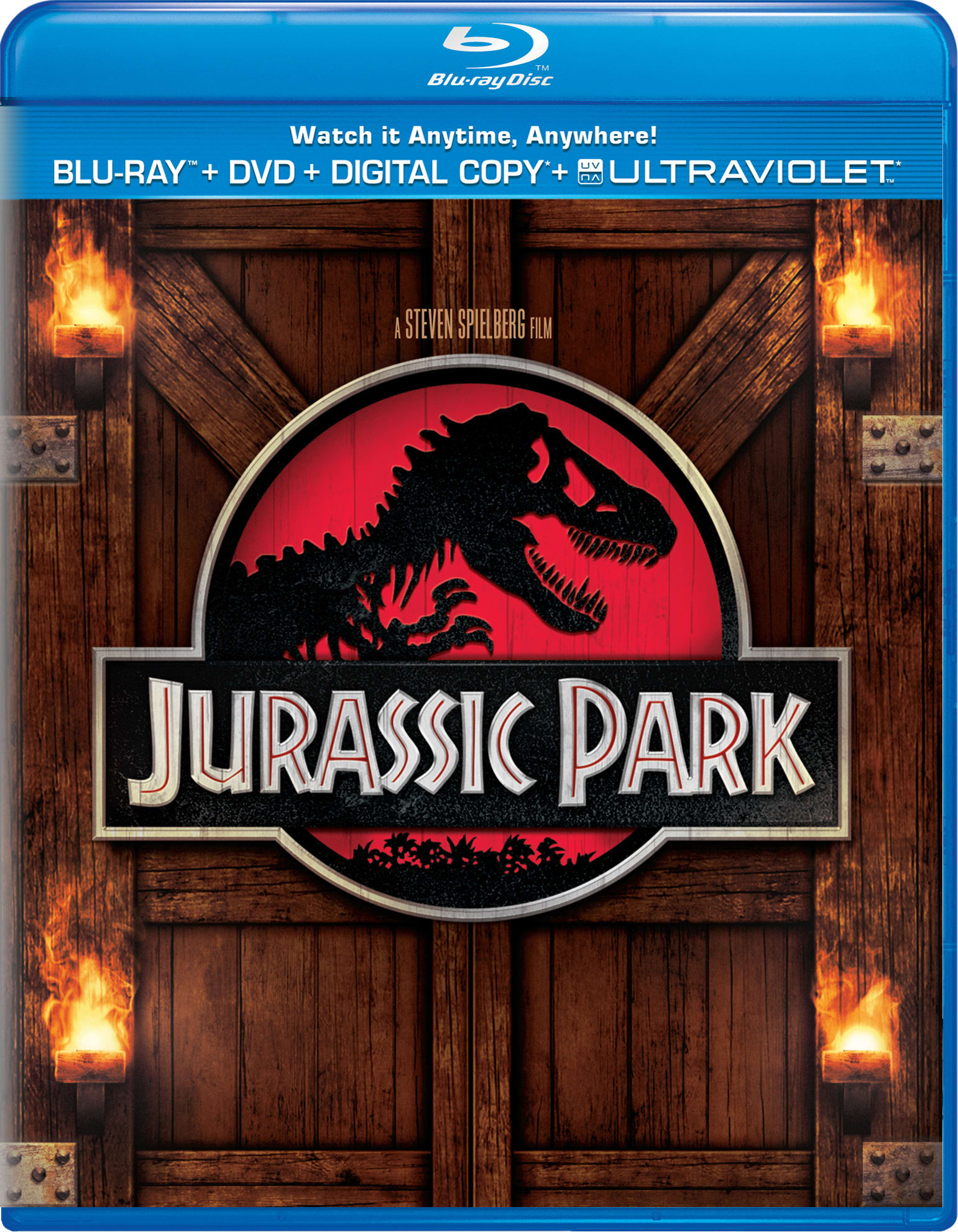 Jurassic Park (DVD + Digital + Ultraviolet) [Blu-ray]