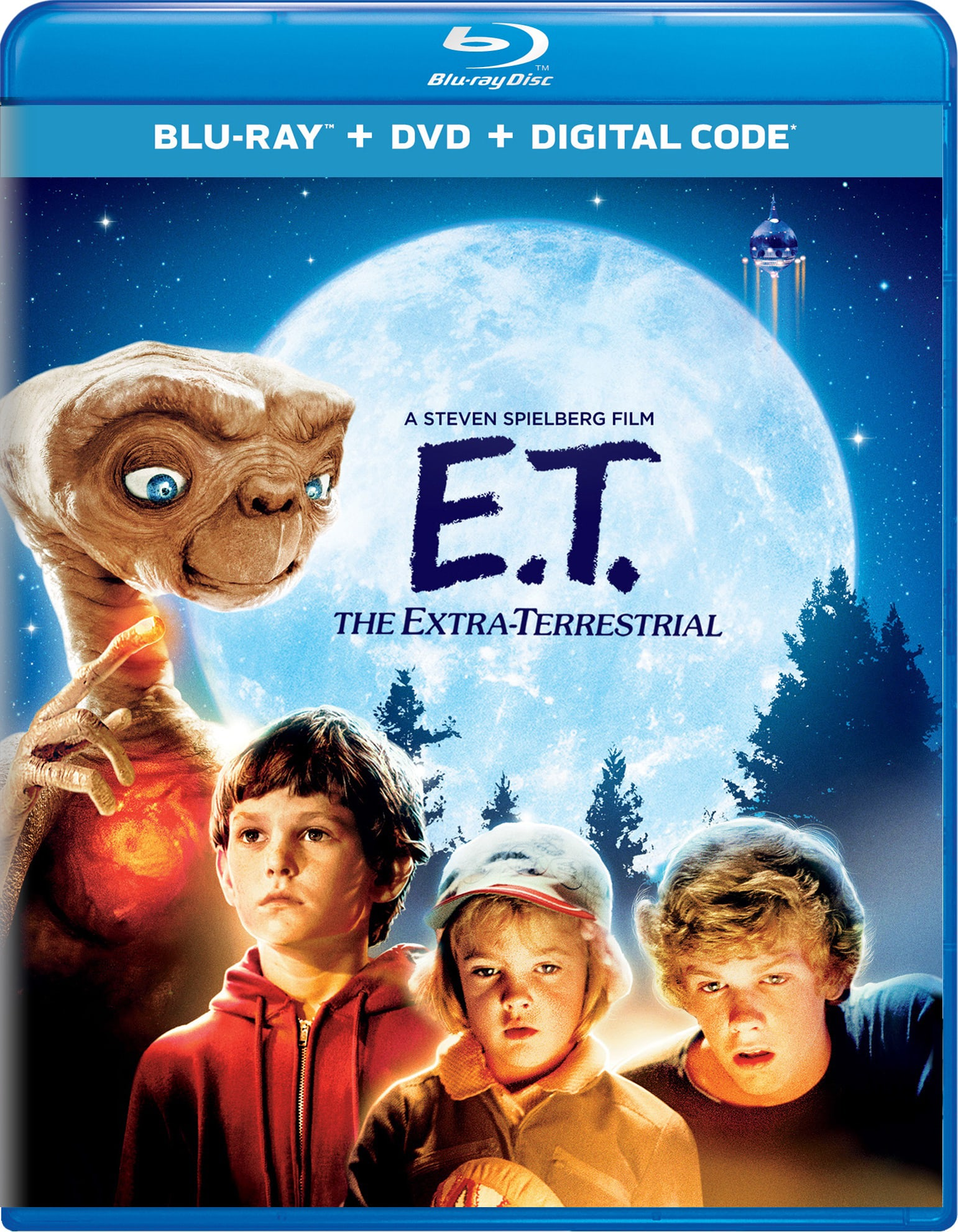 E.T. The Extra Terrestrial (DVD + Digital) [Blu-ray]