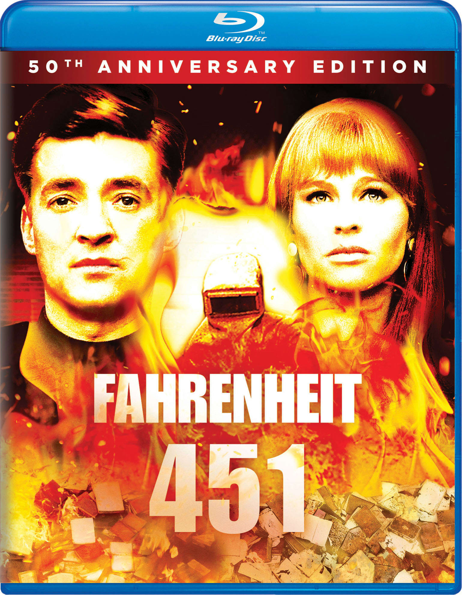 Fahrenheit 451 (50th Anniversary Edition) [Blu-ray]