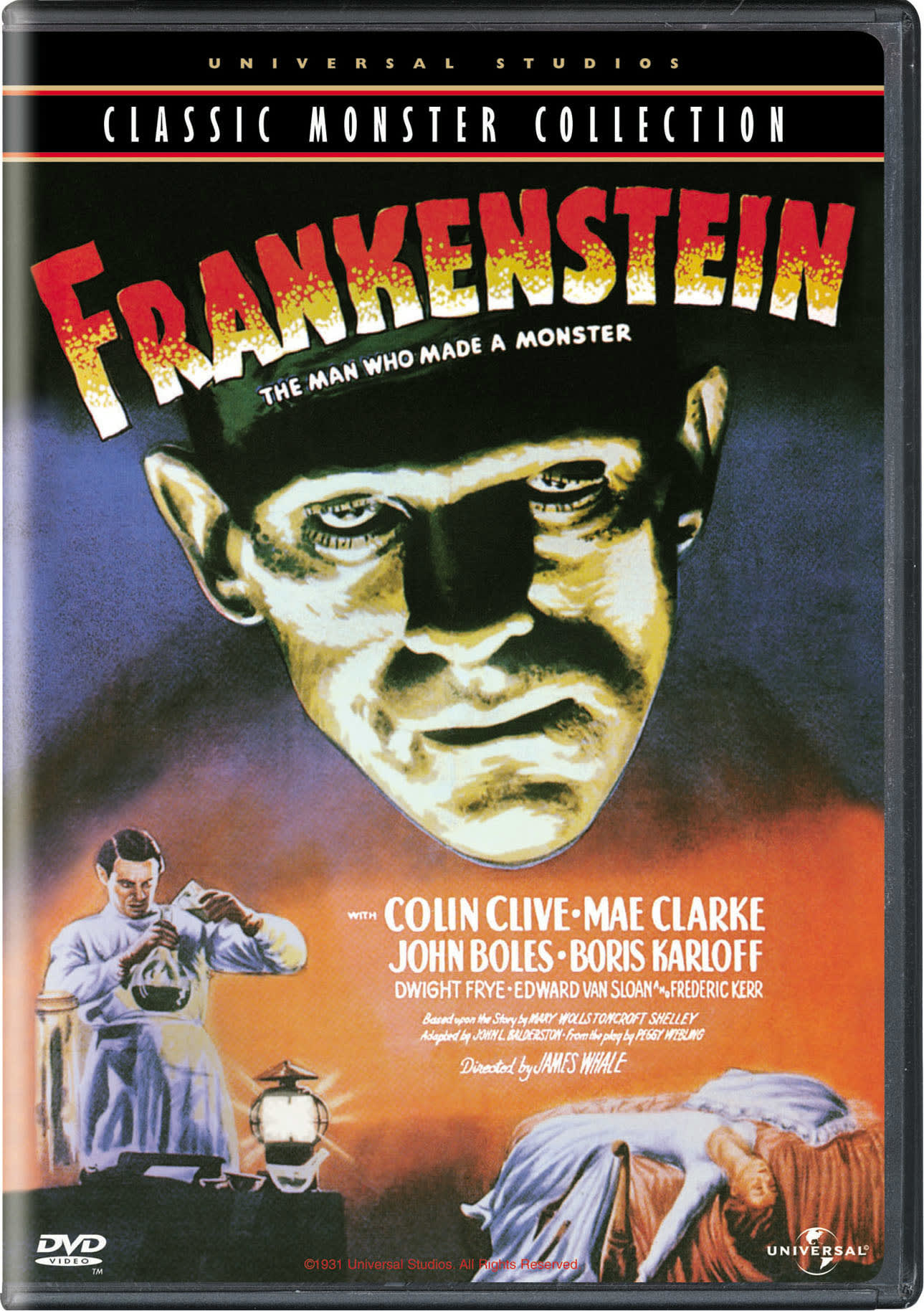 Frankenstein (Universal Studios Classic Monster Collection) [DVD]