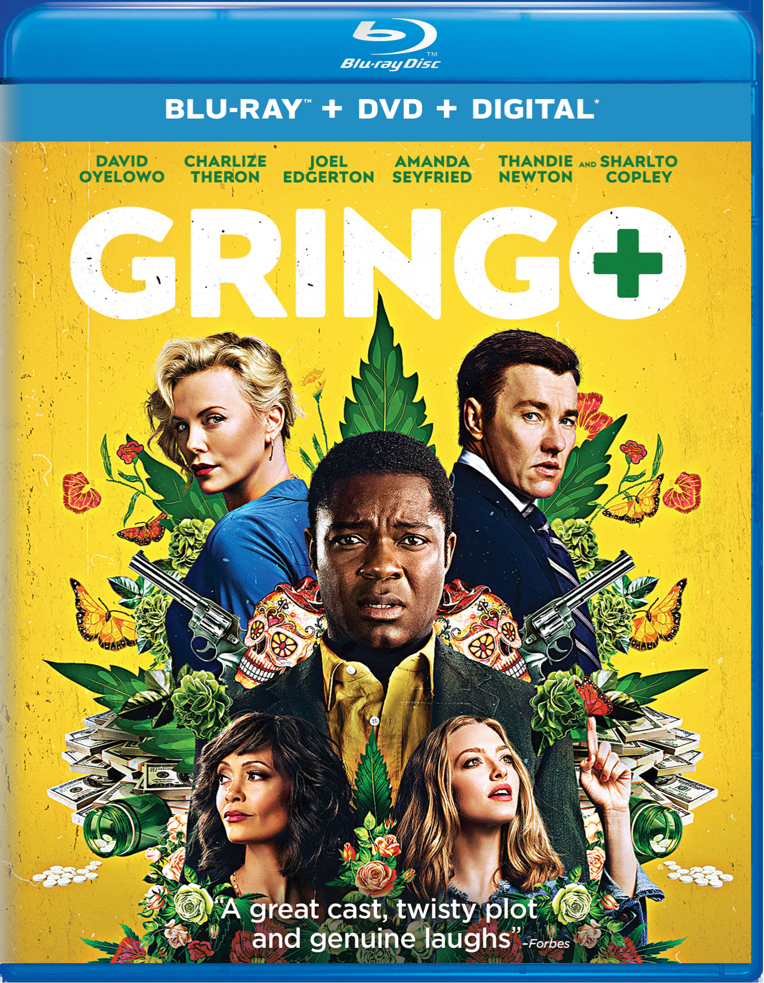 Gringo (DVD + Digital) [Blu-ray]