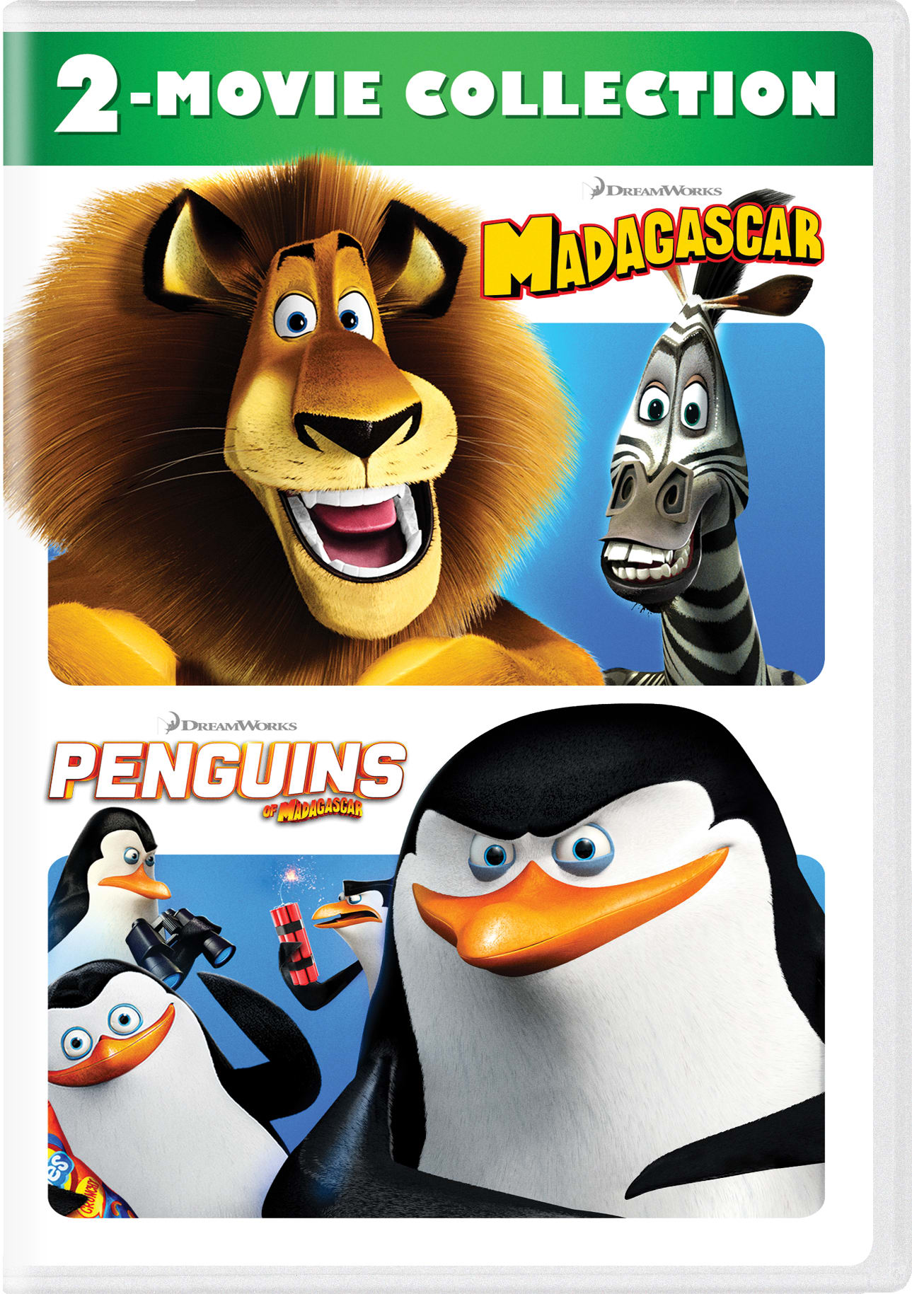 Madagascar/Penguins of Madagascar [DVD]