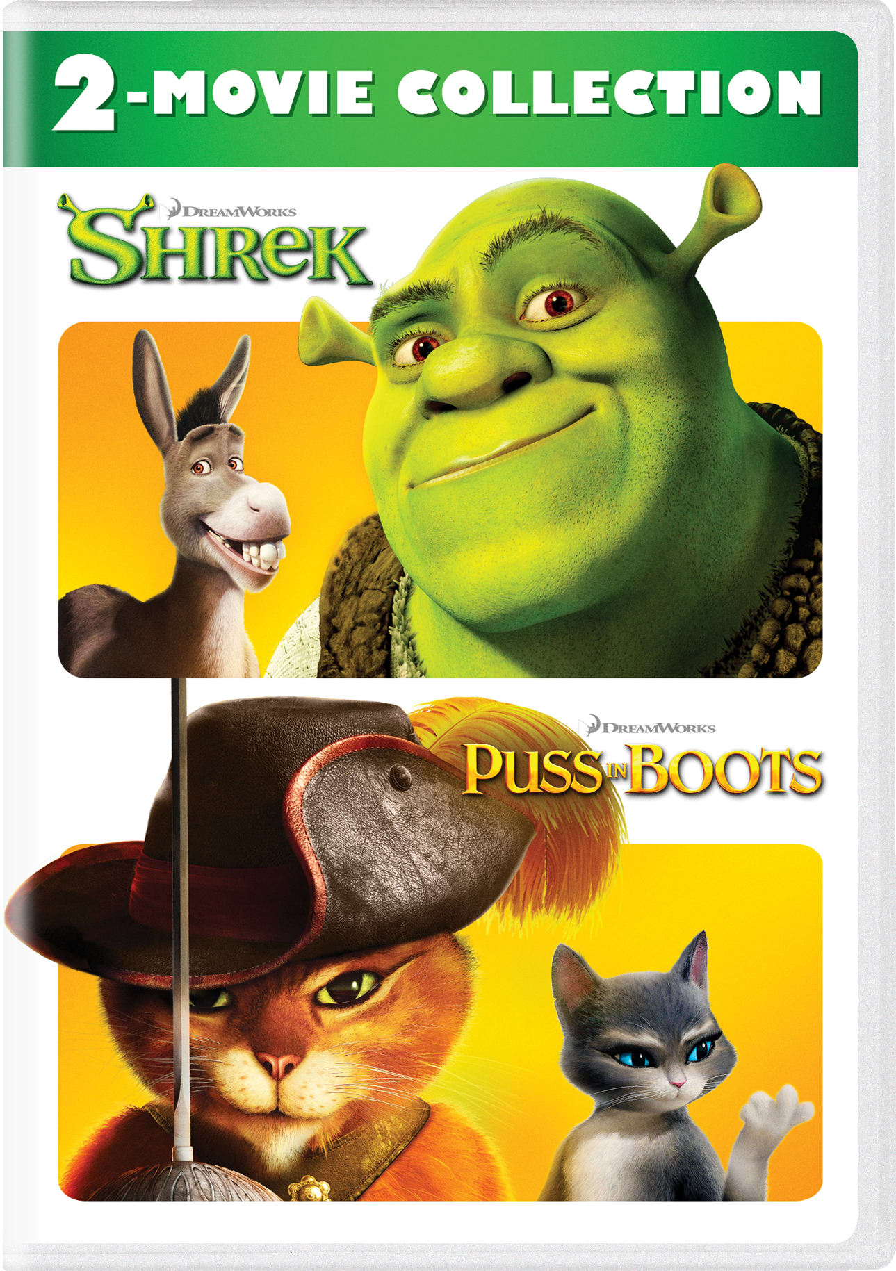 Shrek/Puss in Boots [DVD]