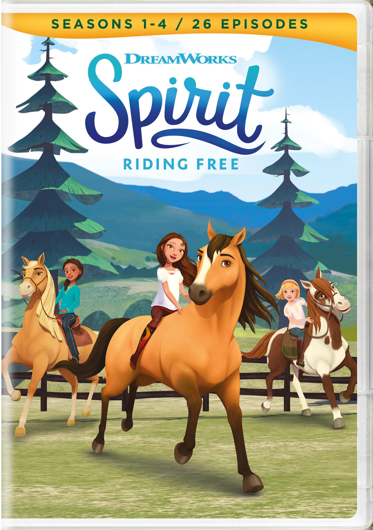 Spirit - Riding Free: Season 1-4 [DVD]