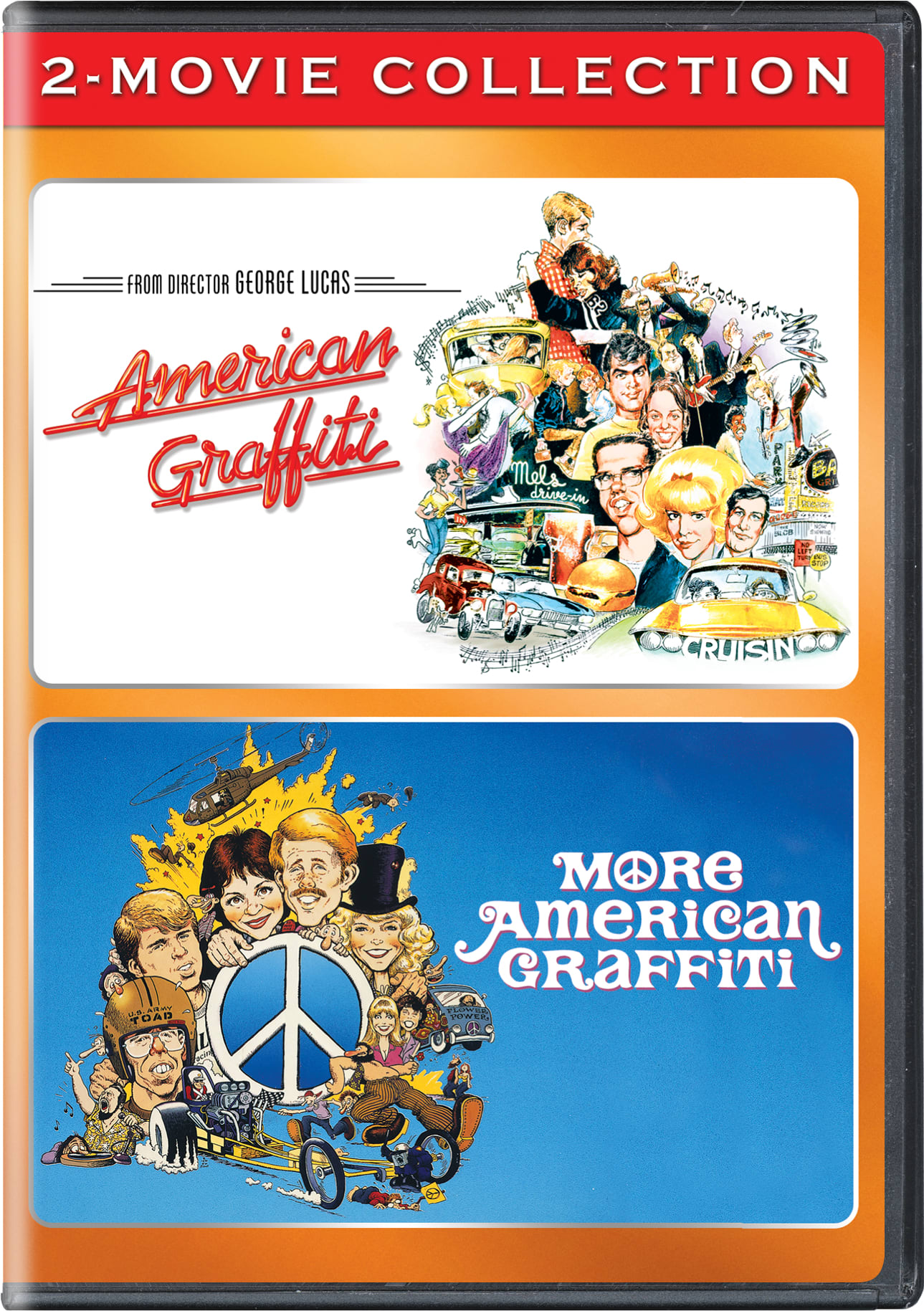 American Graffiti/More American Graffiti [DVD]