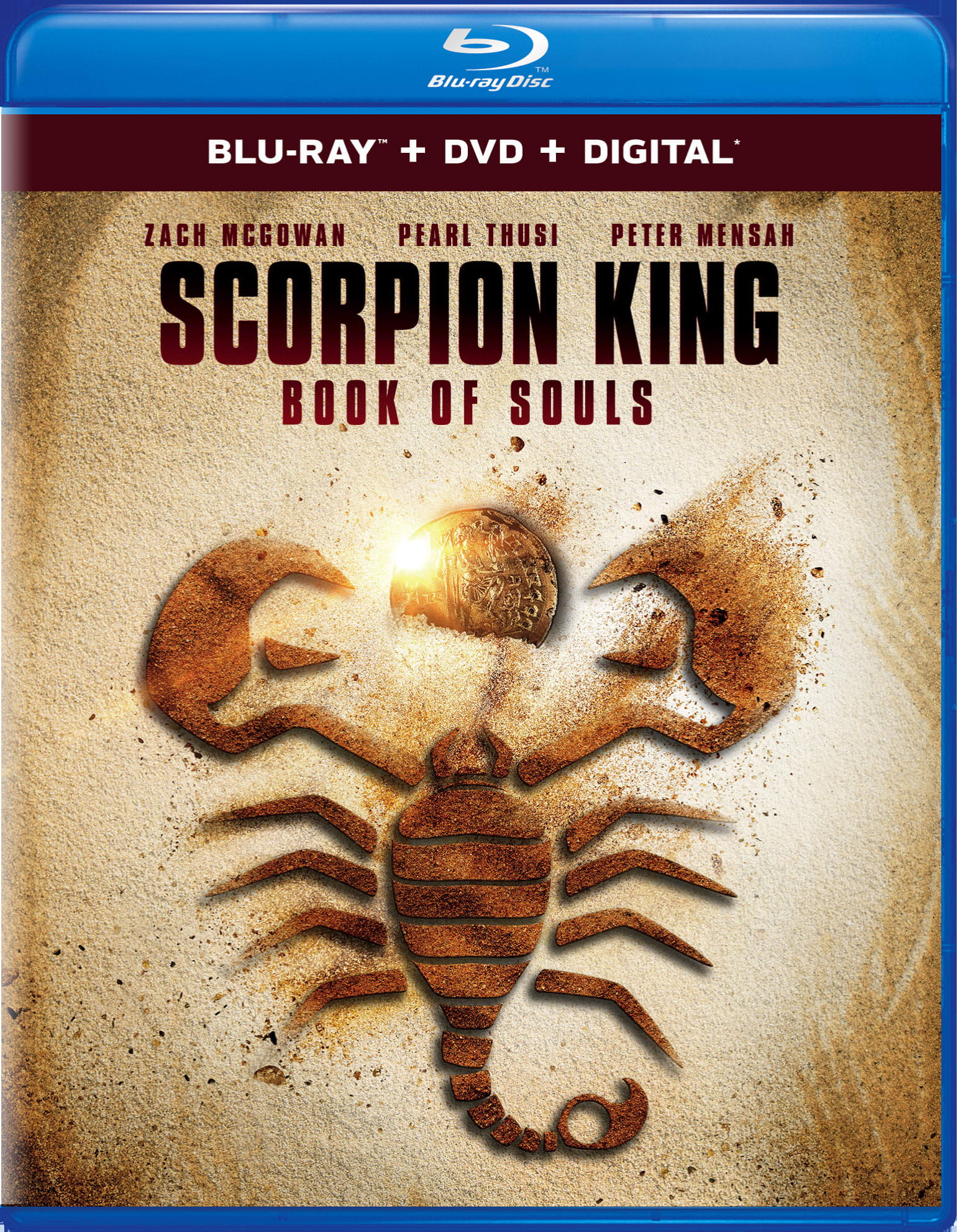 Scorpion King: Book of Souls (DVD + Digital) [Blu-ray]