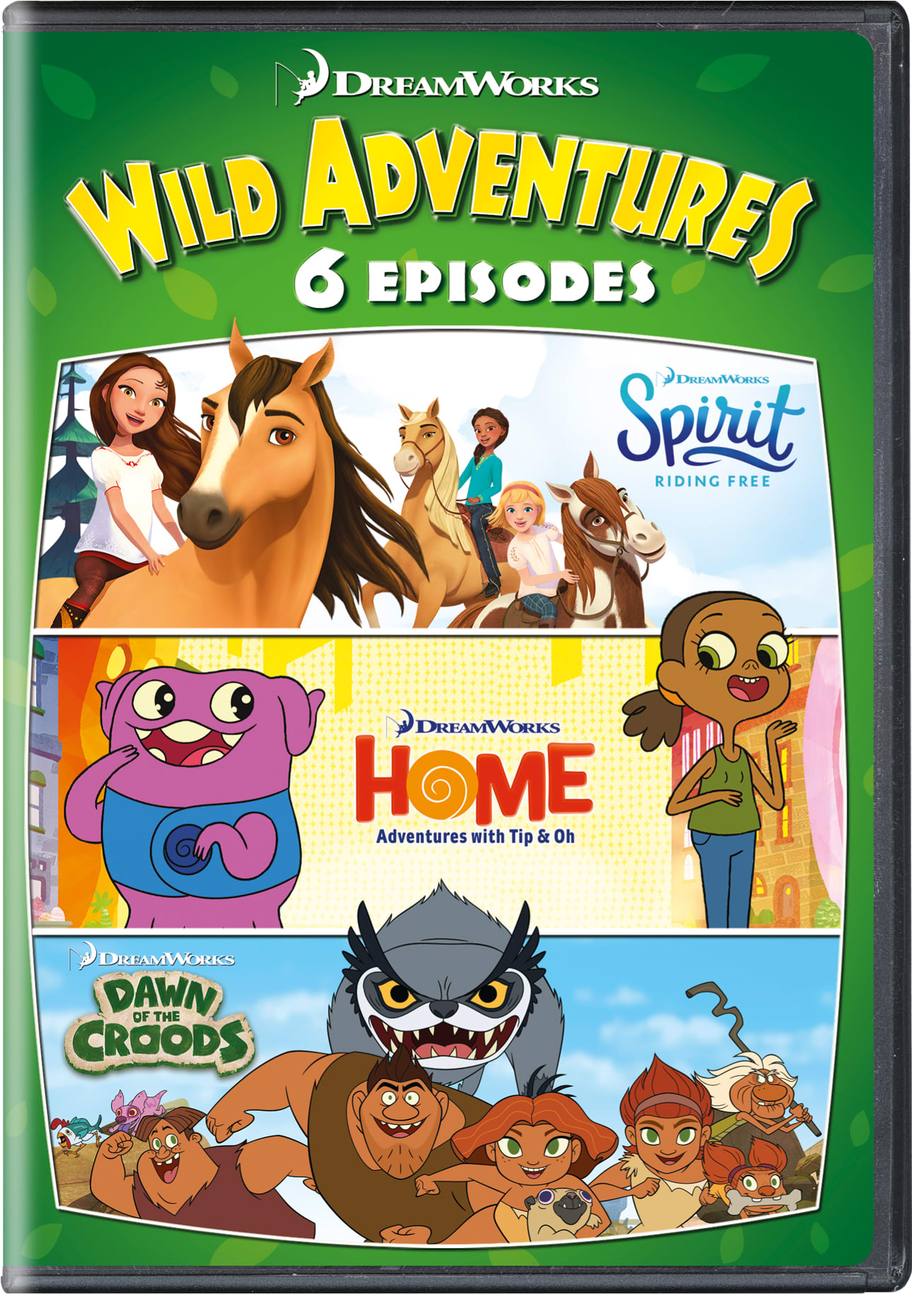 DreamWorks 6 Wild Adventures [DVD]