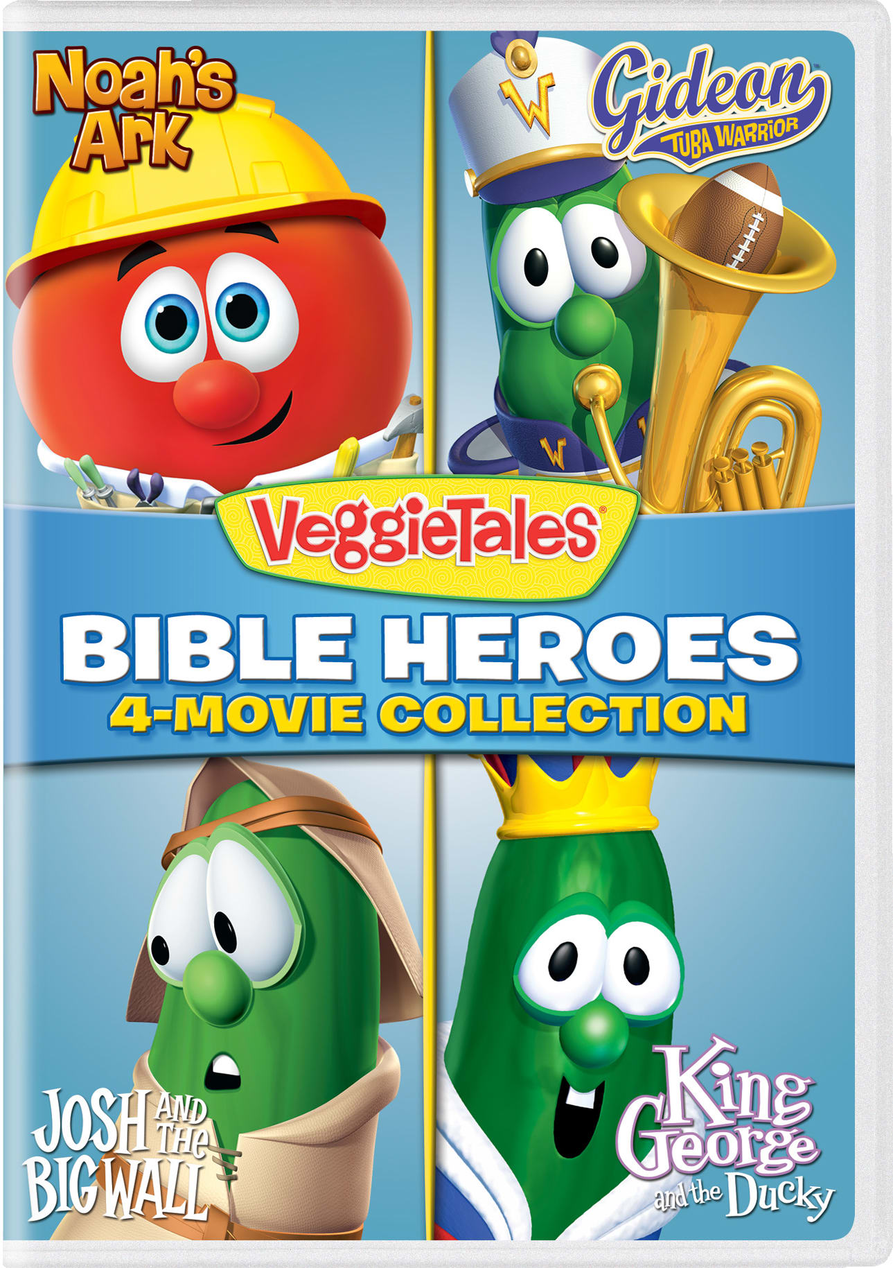 VeggieTales: Bible Heroes - 4-Movie Collection 2 [DVD]