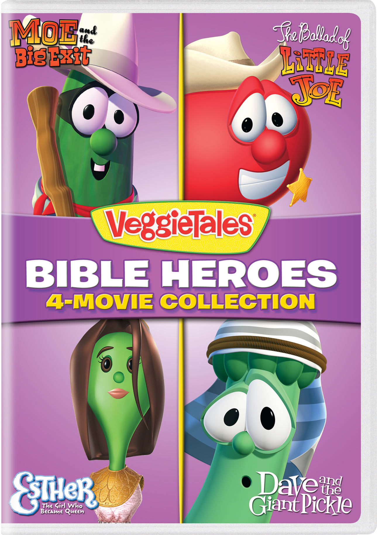 VeggieTales: Bible Heroes - 4-Movie Collection [DVD]