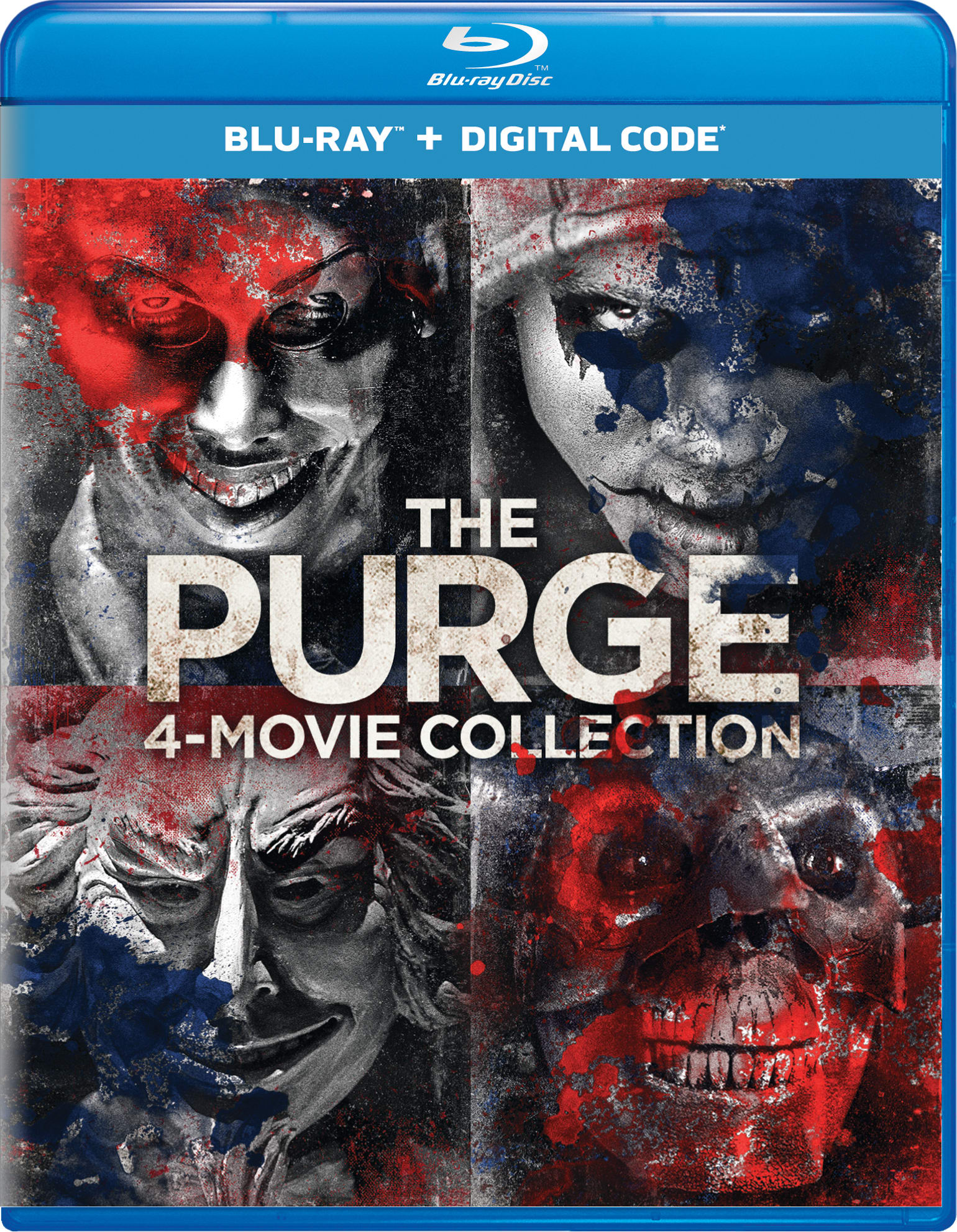 The Purge: 4-movie Collection [Blu-ray]