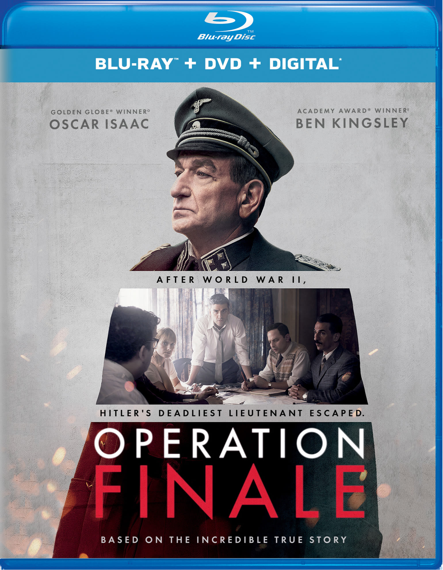 Operation Finale (DVD + Digital) [Blu-ray]