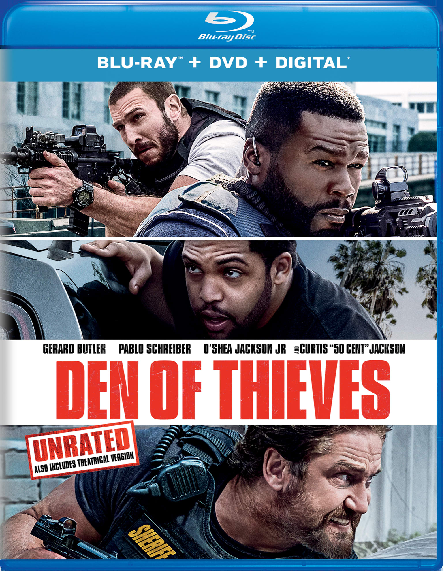 Den of Thieves (Unrated Edition) [Blu-ray]