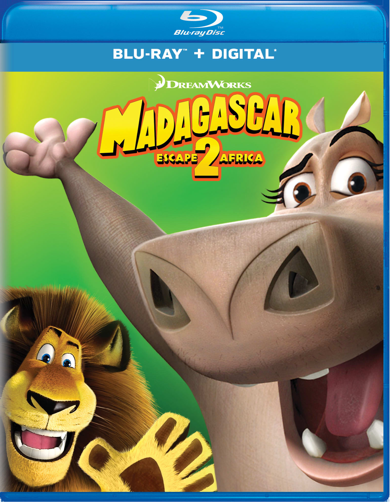 Madagascar: Escape 2 Africa (Digital) [Blu-ray]