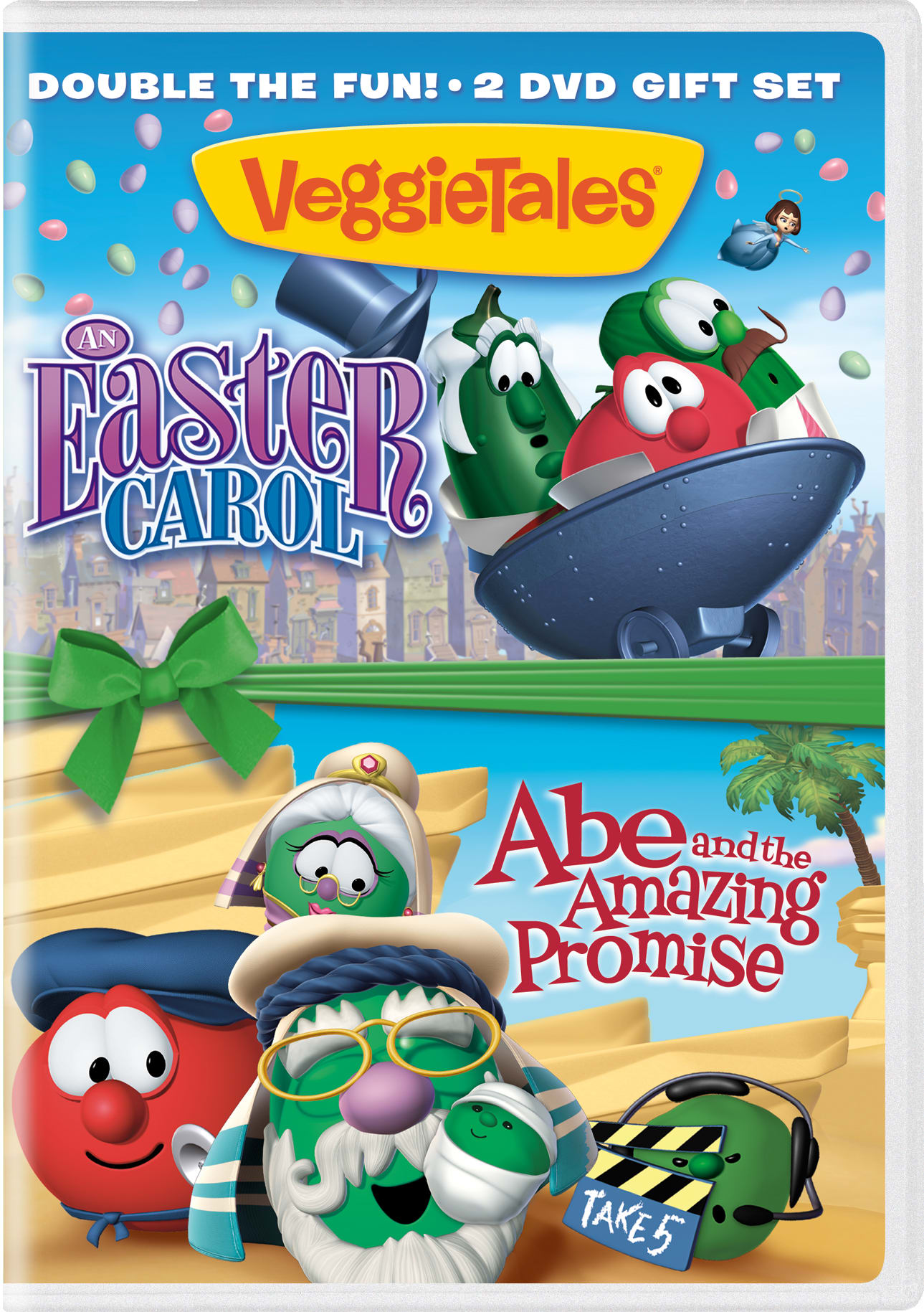 VeggieTales: An Easter Carol/Abe and the Amazing Promise [DVD]